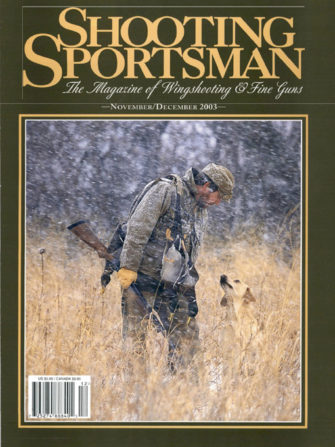 Shooting Sportsman - November/December 2003